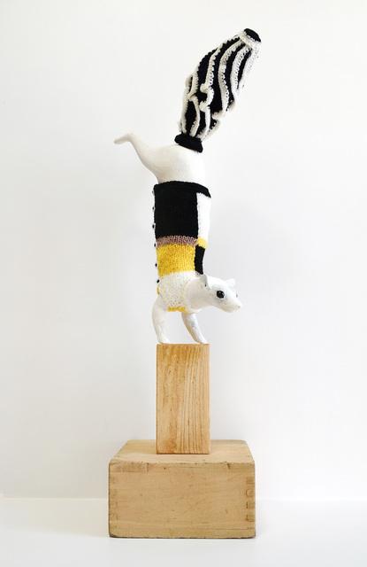 , 'Studded Animal - Skunk,' 2018, Aki Gallery