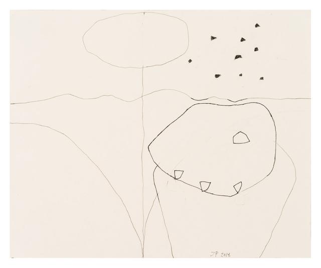 , '100/13 Elizabeth Bishop. Behind Stowe (One Hundred Poets),' 2016, Häusler Contemporary