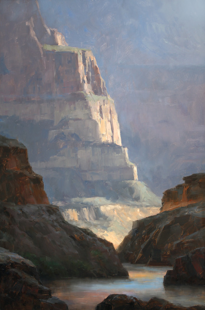 , 'Evening at Garnet Canyon,' 2015, Abend Gallery