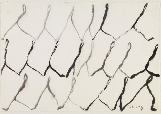 , 'People,' 2002, Lehmann Maupin