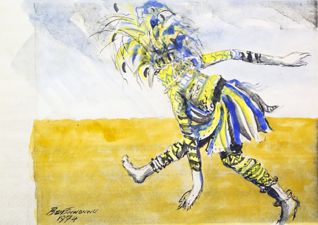 , 'Dancing Ogolo,' 1974, TAFETA