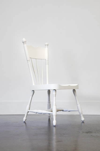 , 'A New White Chair from a Dark Old House,' 2014, Lora Reynolds Gallery