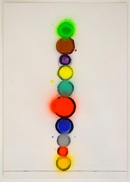 , 'Atomic Drawing,' 2010, Ingleby Gallery