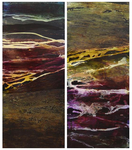 , 'Algal Bloom I & II,' 2016, Flinders Lane Gallery
