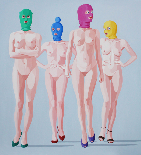 , 'Pussy Riot ,' 2014, Contini Art Gallery