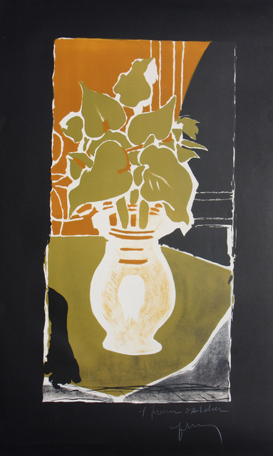 Georges Braque, 'Feuilles Couleurs Lumiere', 1953, Denis Bloch Fine Art
