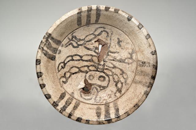 , 'Assiette polychrome (Polychrome dish),' 600-900 AD, Musée du quai Branly