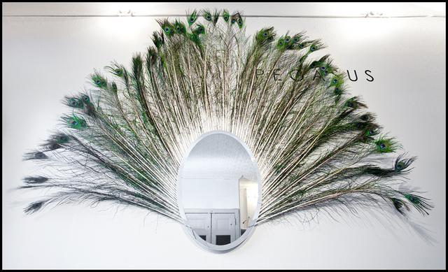 , 'Peacock Mirror,' 2012, Cristina Grajales Gallery
