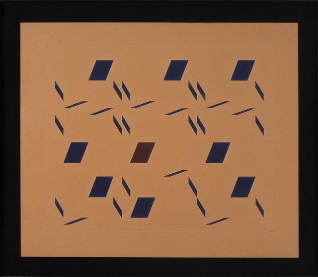 , 'Metaesquema Sêco 27,' 1957, Bergamin & Gomide