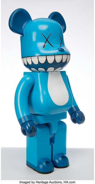 KAWS, 'Chomper BE@RBRICK 1000%', 2003, Other, Painted cast vinyl, Heritage Auctions