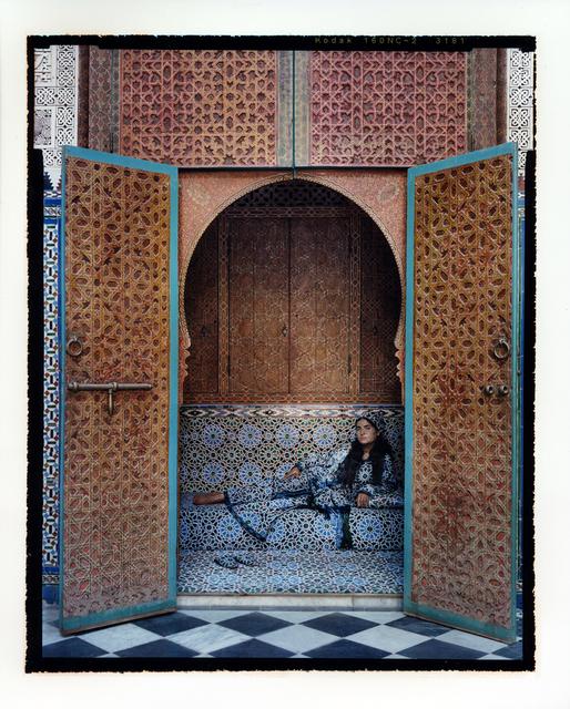 Lalla Essaydi, 'Harem #7', 2009, Sundaram Tagore Gallery