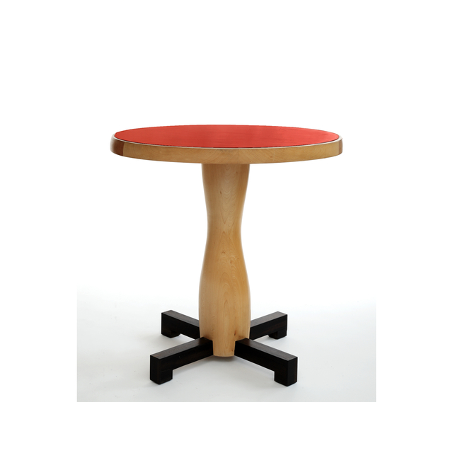 , 'Red lacquer and Sycamore TABLE by Jacques Jarrige,' 2006, Valerie Goodman Gallery