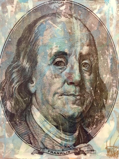 , 'Benjamin Franklin,' 2018, World Trade Gallery