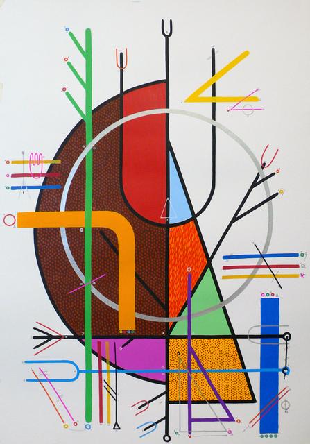 """Sixe Paredes, '""""COSMOVISIÓN 01""""', 2010, sc gallery"""