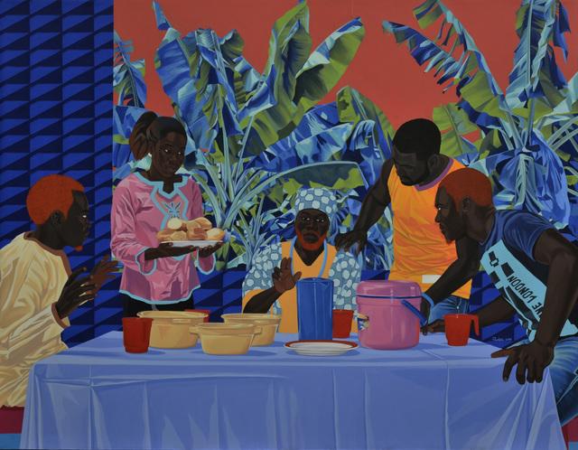 , 'Le souper a Penja,' 2019, Jack Bell Gallery