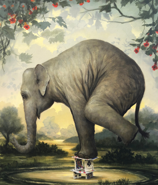 Kevin Sloan, 'The Steadfast One', 2019, Painting, Acrylic on canvas, Clark Gallery
