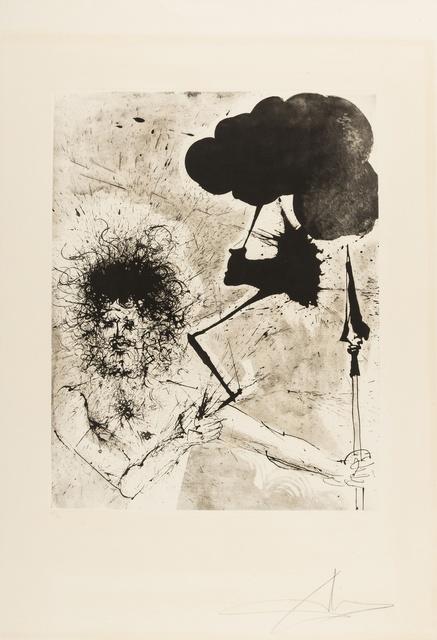 Salvador Dalí, 'Zeus (Field 63-3K; M&L 125a)', 1963, Forum Auctions