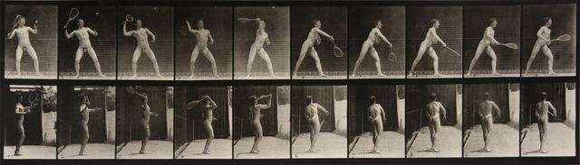 , 'Animal Locomotion: Plate 294 (Nude Man Playing Tennis),' 1887, Huxley-Parlour