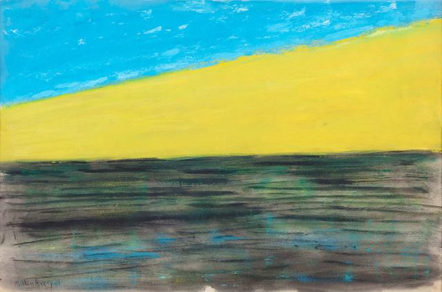 , 'Yellow Dune,' 1958, Paul Kasmin Gallery