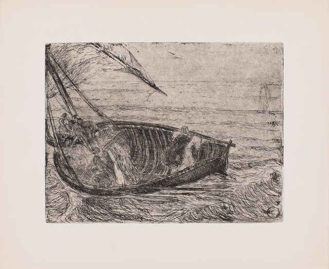 , 'Christ Walking on the Waters,' ca. 1910, Michael Rosenfeld Gallery