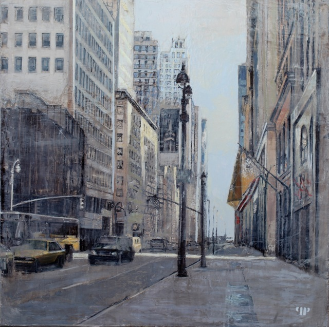 , '5th Ave, 46th St, Walking to Central Park,' 2014, Cynthia Corbett Gallery