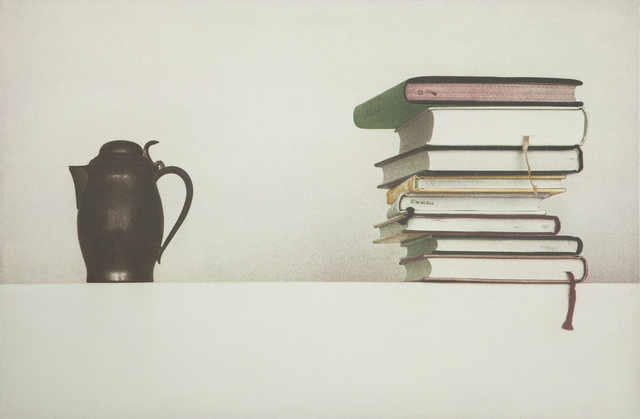 , 'kettle and books,' 2012, Gallery Now