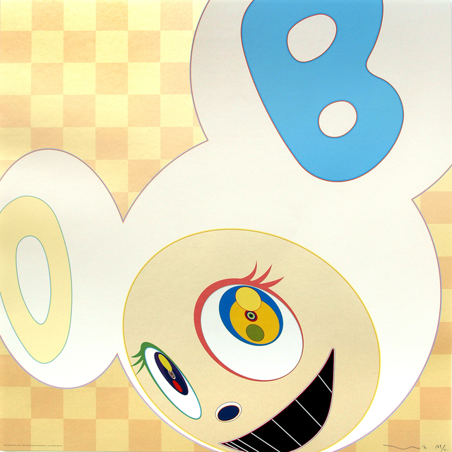 Takashi Murakami, 'AND THEN… Itchimatsu Pattern', 2006, Print, Mixed Media Print, Galerie Raphael