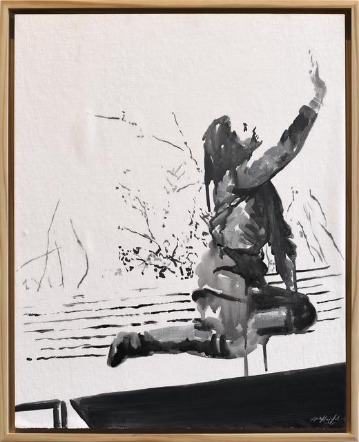 , 'Ladies of Lake Worth: Kneeling Pose #3 - Reach,' 2016, Jen Mauldin Gallery