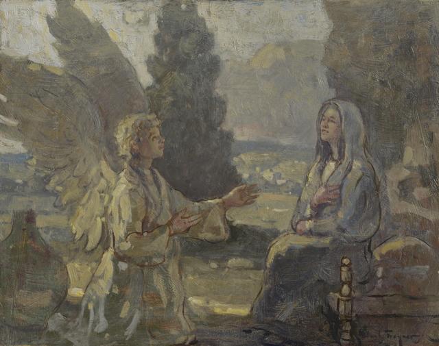 , 'Annunciation,' 2018, J. Cacciola Gallery