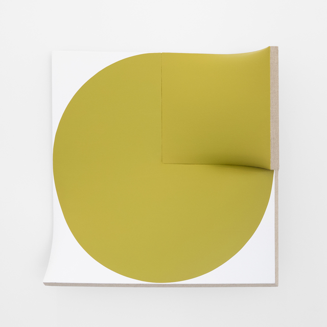 Jan Maarten Voskuil, 'Improved Flat Out Pointless Cut-Out Yellow-Green', 2015-2019, Peter Blake Gallery