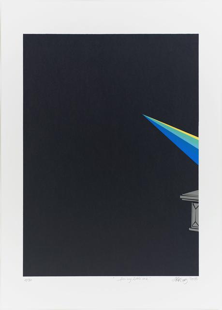 Ninakarlin Prinz, 'for my little one', 2013, Print, Silkscreen paper 250 g/sqm, Lepsien Art Foundation