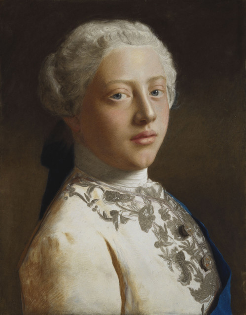 , 'George, Prince of Wales (1738-1820),' 1754, Royal Collection Trust