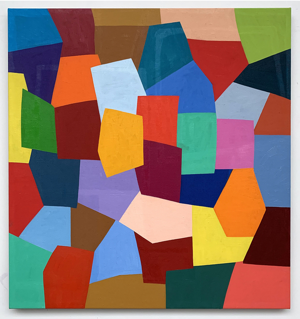 Charles Arnoldi, 'Untitled', 2018, Painting, Oil on linen, Modernism Inc.