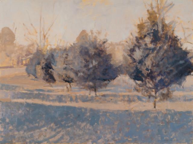 , 'Cedars, First Light,' 2018, Les Yeux du Monde Gallery