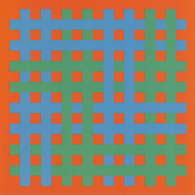 Roland Helmer, 'Rot blau grün', 1965, Heitsch Gallery