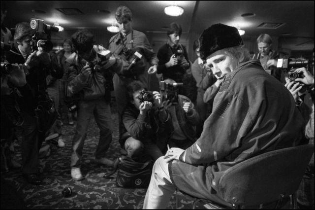 David Corio, 'John Lydon at the Royal Lancaster Hotel, London, UK ', 1983, ElliottHalls