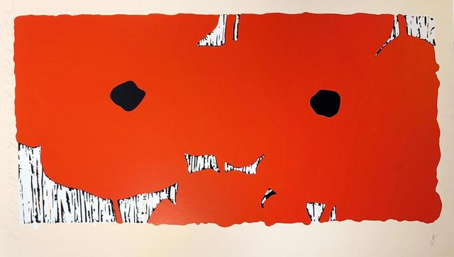 Donald Sultan, 'Red Poppies, July 24, 2012', 2012, Print, Screenprint, Hamilton-Selway Fine Art Gallery Auction