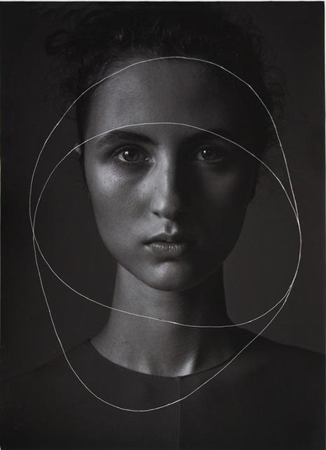 , 'Black Circles (Lila) ,' 2017, CAMERA WORK