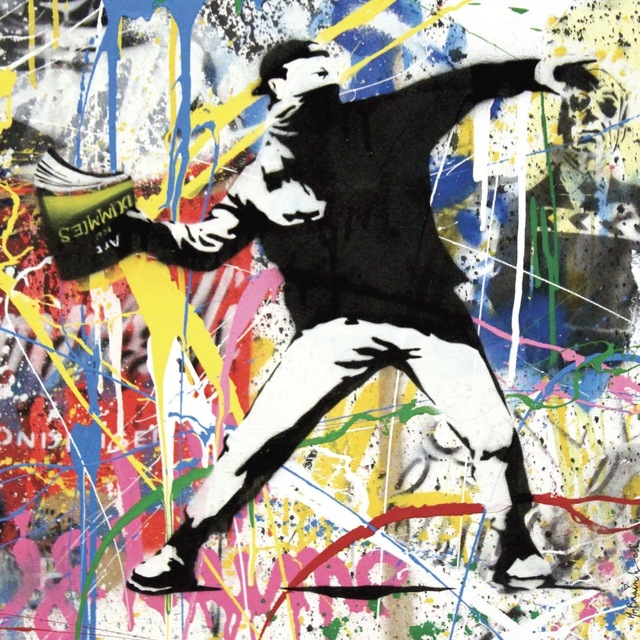 , 'Banksy Thrower,' 2015, Contessa Gallery