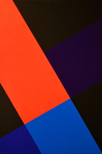 , '7.3.2.1., 60° Negro. Nudo transversal,' 2013-2015, Galerie 100 kubik
