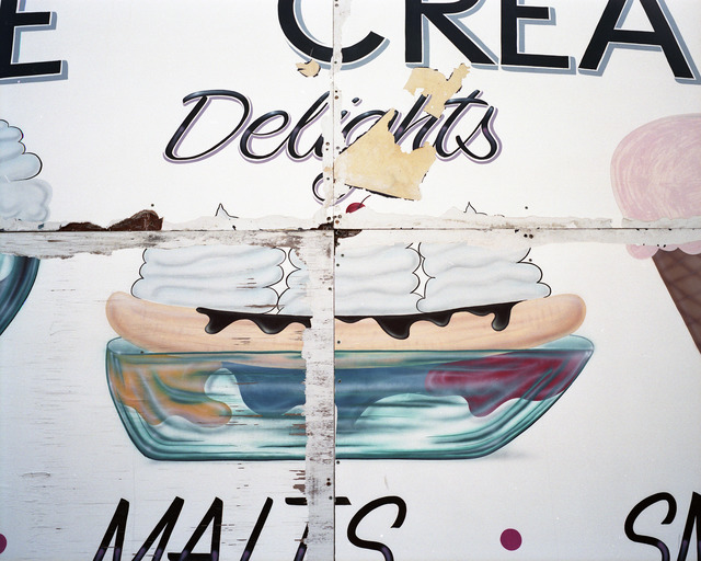 , 'Ice Cream Delights sign, Wildwood, NJ,' 2010, Yancey Richardson Gallery