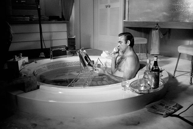 Terry O'Neill, ' Sean Connery in bath tub', 1971, OSME Fine Art