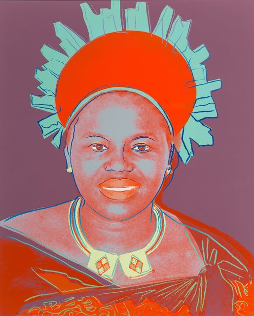 Andy Warhol, 'Queen Ntombi Twala, from Reigning Queens', 1985, Heritage Auctions