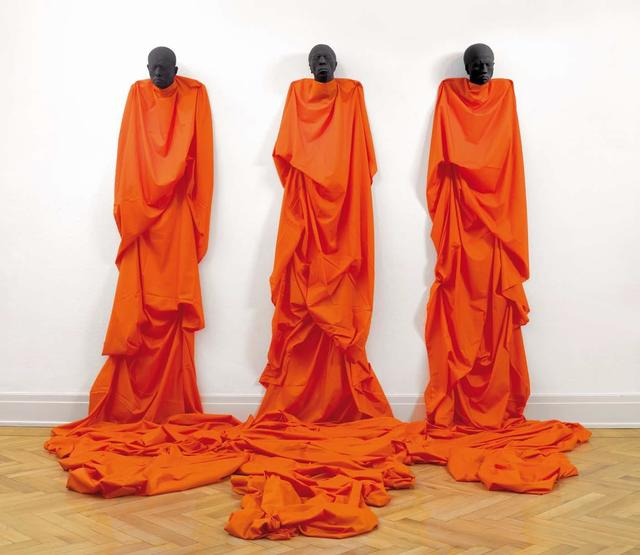 , 'Monks,' 2017, Mark Hachem Gallery