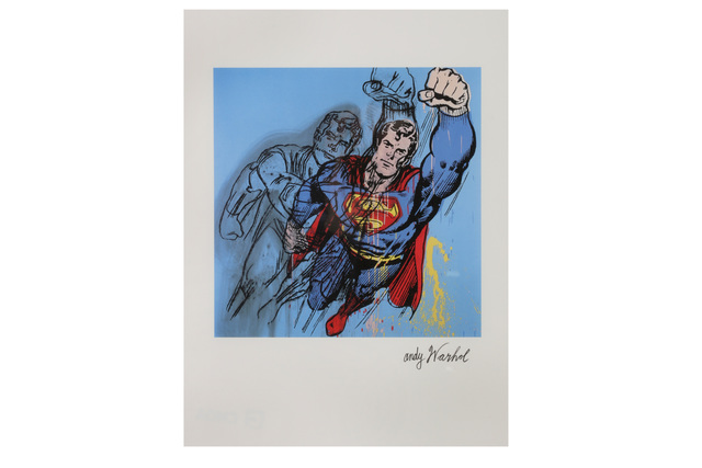 Andy Warhol, 'Superman', 1980s, Chiswick Auctions