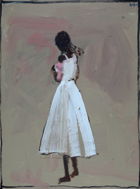 John Maitland, 'Girl in White with Infant', Wentworth Galleries