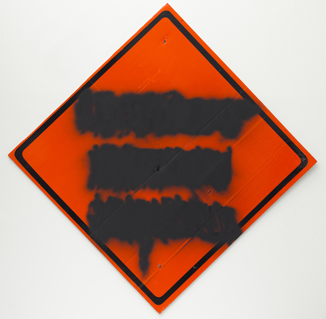 , 'Orange Diamond Mute,' 2014, Feuer/Mesler