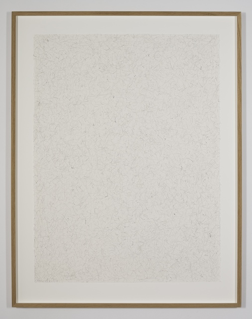 William Anastasi, 'Without Title (Still Drawing, 9.15.11)', 2011, Galerie Jocelyn Wolff