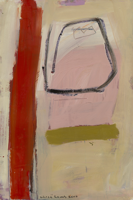 , 'Pink and Red Feb II,,' 2017, Hollis Taggart