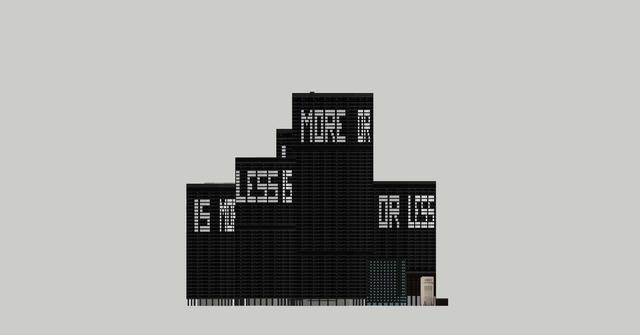 , 'Less is more or ... #4,' 2015, galerie antoine ertaskiran